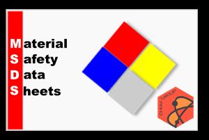اطلاعات ایمنی مواد شیمیایی MSDS