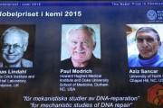 برندگان نوبل شیمی 2015