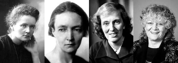 چهار زن تاکنون جایزه نوبل شیمی را دریافت کردهاند