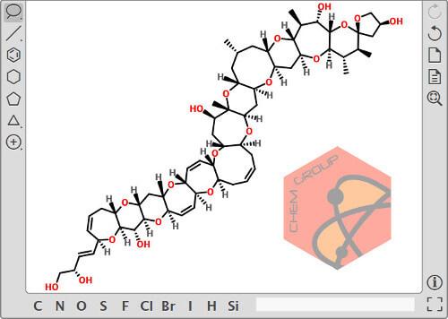 نرم افزار آنلاین رسم ساختار مولکولی ترکیبات شیمیایی