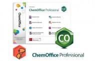نرم افزار ChemOffice Professional طراحی ترکیبات شیمیایی و ساختار های مولکولی