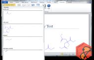 نرم افزار Chemistry Add-in for Word
