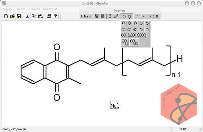 نرم افزار طراحی و رسم ساختار مولکول های شیمیایی ChemPlot