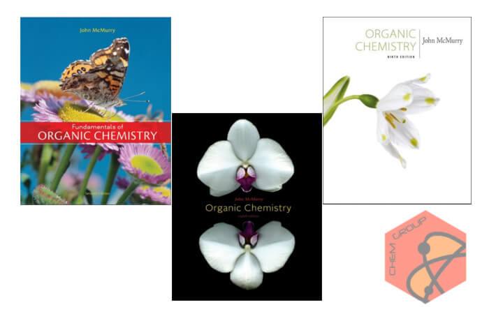 کتاب شیمی آلی مک موری ویرایش های هفتم، هشتم و نهم McMurry Organic Chemistry