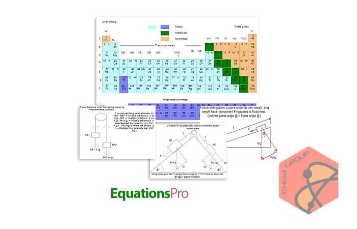 نرم افزار حل مسائل مهندسی شیمی و معادلات ریاضی EquationsPro v10.0