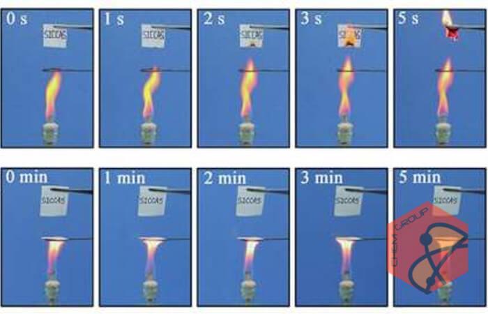 کاغذ ضد آتش در چین ساخته شد