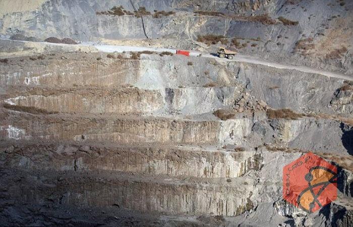 ذخیره دی اکسید کربن هوا در معادن الماس