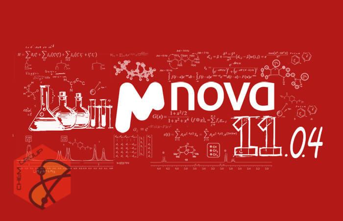 نرم افزار Mestrelab Mnova v11.0.4 - نرم افزار آنالیز داده های NMR ،GC ،MS ،LC