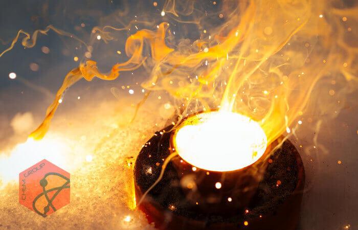 واکنش ترمیت یا ترمایت (Thermite)