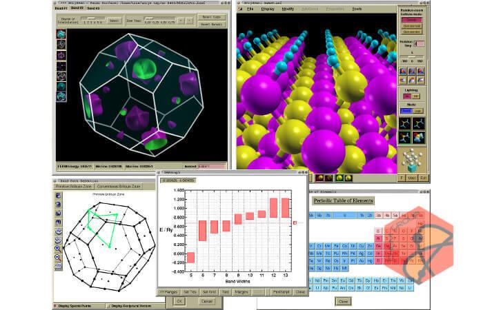 نرم افزار ترسیم ساختارهای مولکولی و کریستالی XCrySDen