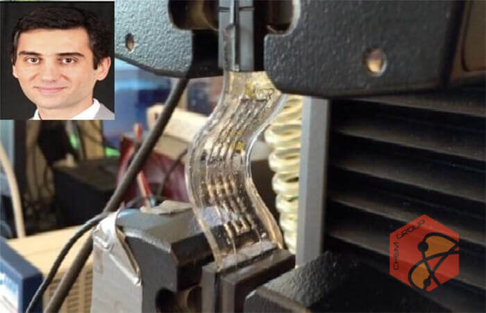 ابزار الکترونیکی ارتجاعی برای تبدیل گرمای بدن به برق