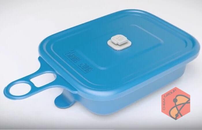 ظرفی که بدون شعله غذا گرم می کند