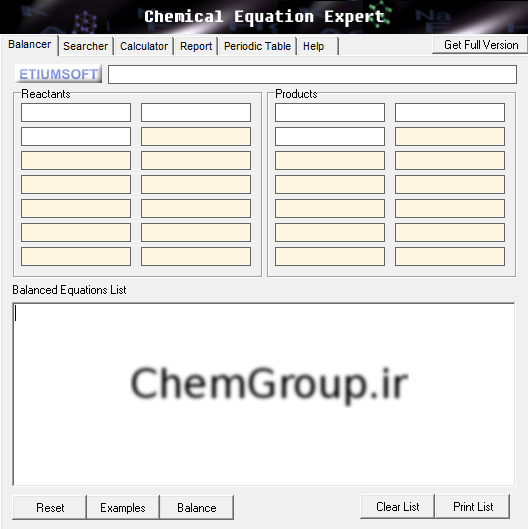 Chemical-equation-expert