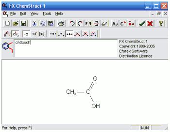 رسم آسان ساختارهای شیمیایی در Word با نرم افزار Fx ChemStruct v1.203.2